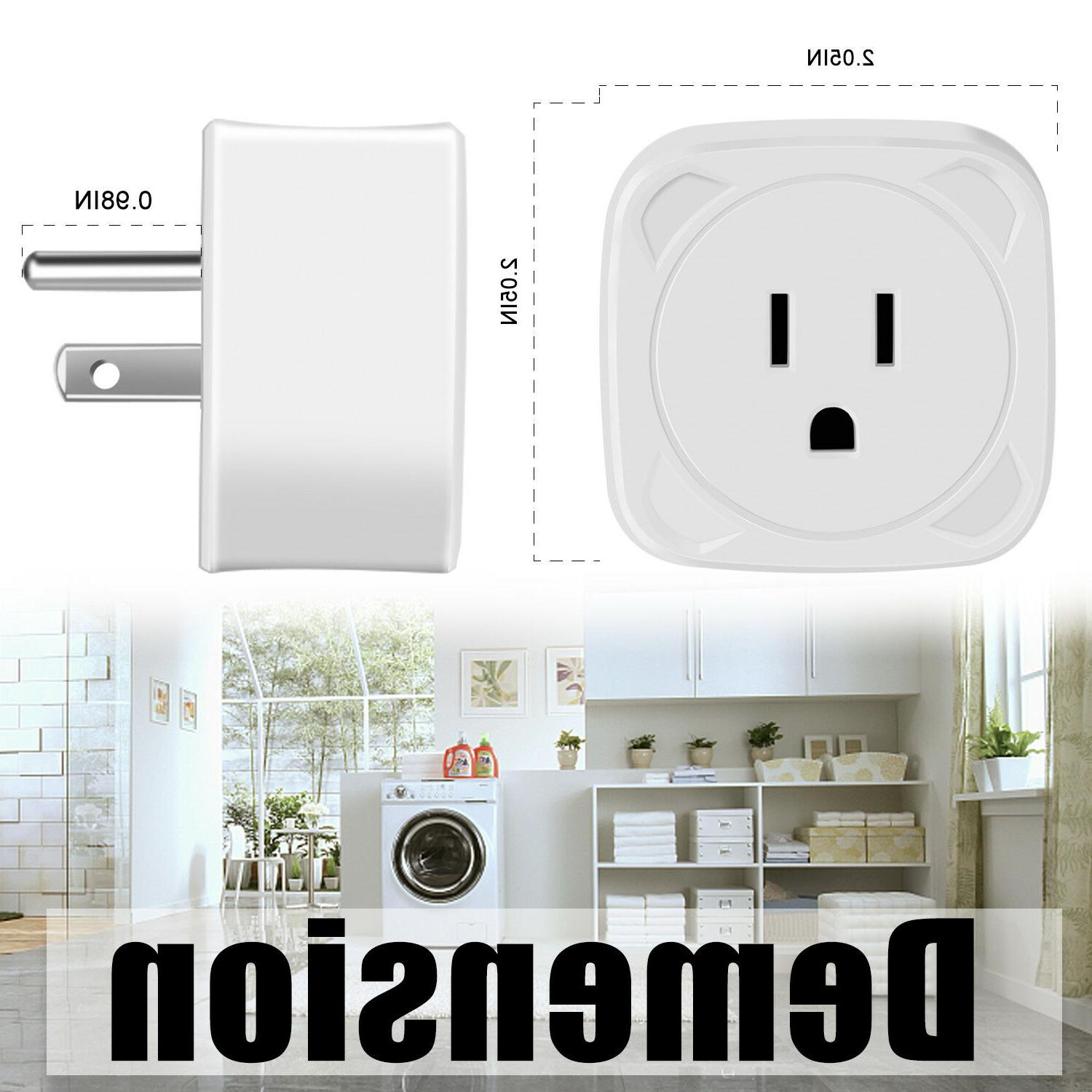 WiFi Smart Plug Socket APP Timing Outlet