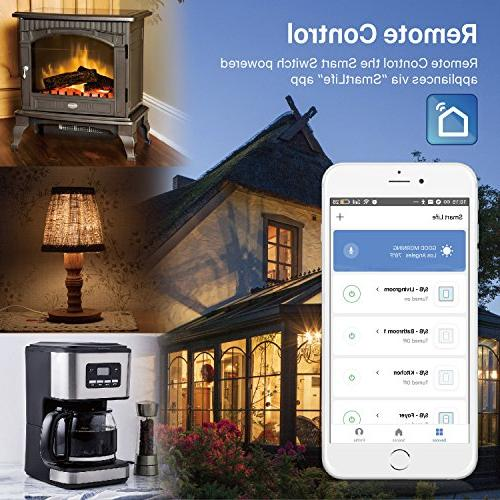 TNP WiFi Smart Switch Home Automation Light Module - Amazon Echo Alexa Google Compatible Wireless Plug Socket