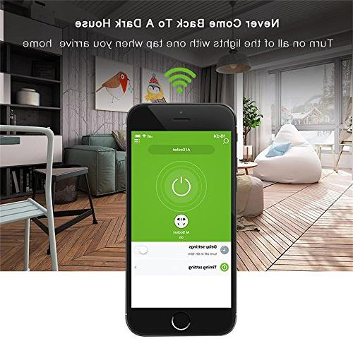 WiFi Wireless Remote Control Light Relay Home Automation With Amazon