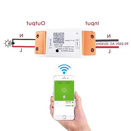 WiFi Smart Remote Relay Home Automation With Amazon