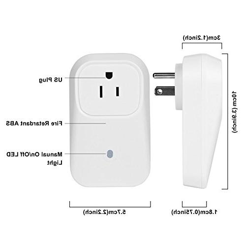 DC XINGDONGCHI Smart US Power Switch Socket Outlet Control Turn On/Off Electrics by iPhone App
