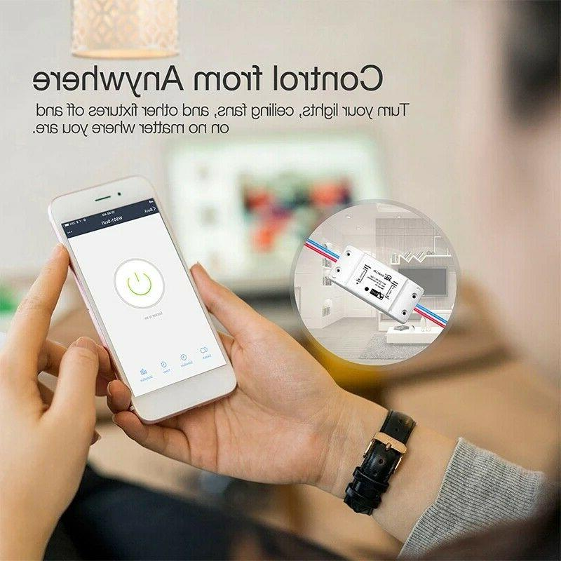 Wifi Switch Remote Light Smart Home Automation