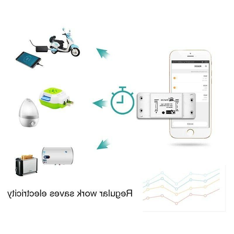 Wifi Switch DIY Wireless Remote Home Automation Relay