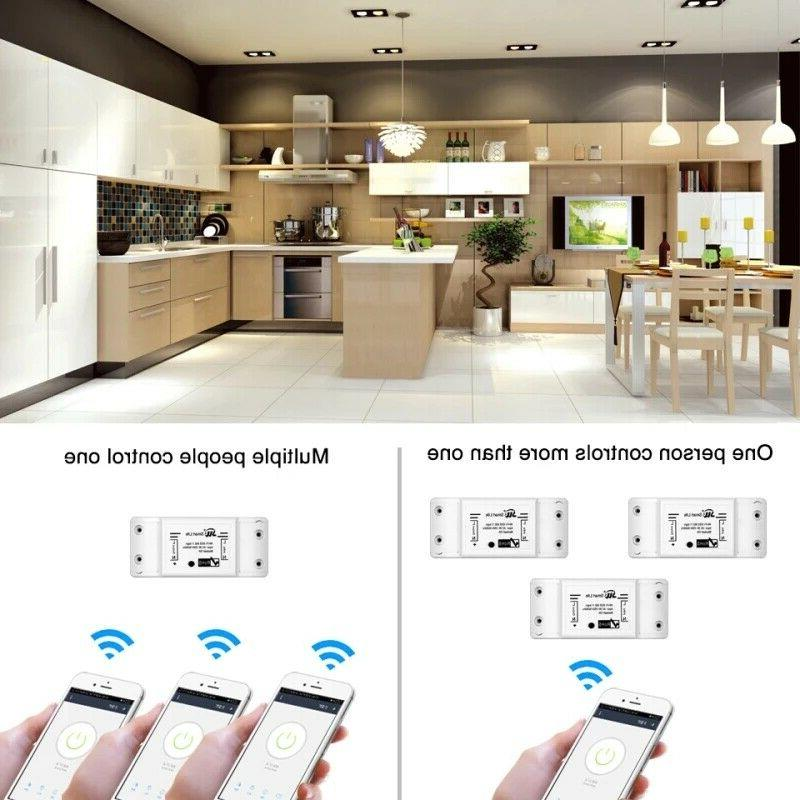 Wifi Switch DIY Remote Domotica Home
