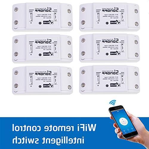 wifi switch wireless remote control