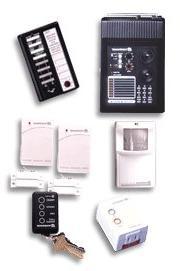 7-PIECE WIRELESS X10 Home SECURITY SYSTEM