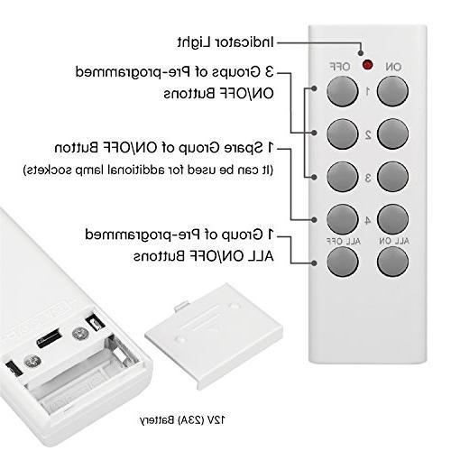 TNP - Lighting Plug Fixture Outlet Replacement Home Automation E26 E27-3