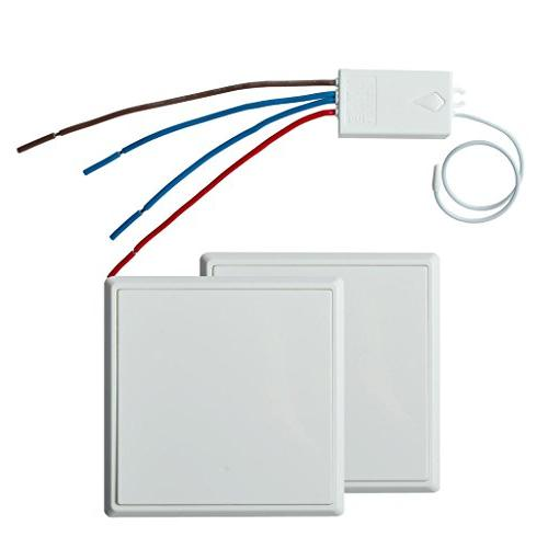 wireless lights switch kit control