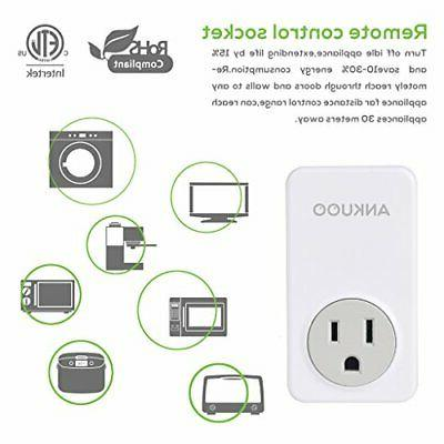 Ankuoo Wireless Control Light Switch For