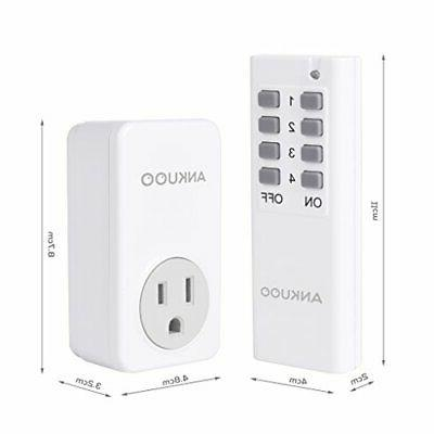 Wireless Outlet Switch SD5001 1800W 15 Remote Control Outlet
