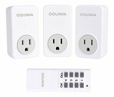 wireless control light switch power plug