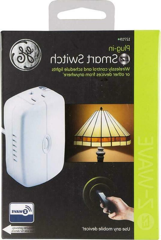 Wireless Lighting Control Appliance Plug-In Works With
