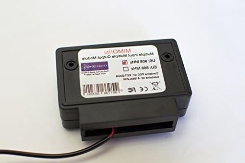 ZC08-16040002 Wireless Z-Wave Multi-Input//Output Dry Contact Bridge; Cert ID