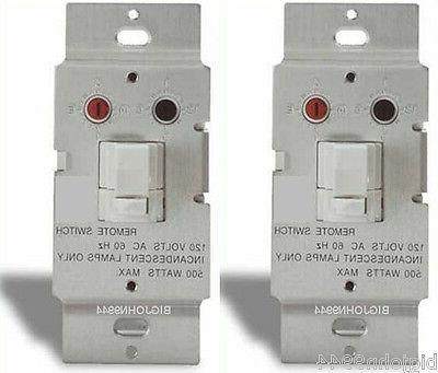 X10 WS467 Dimming Wall Switch - White Button