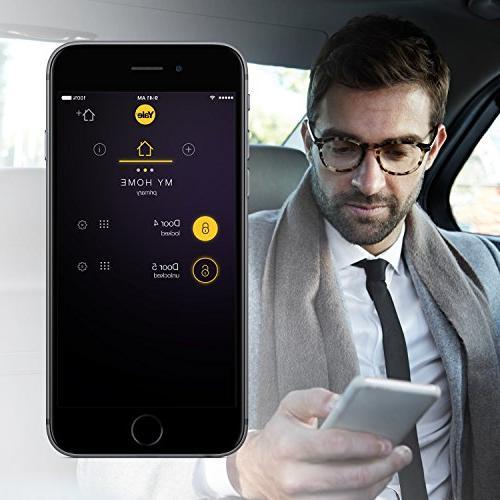 Yale Lock - Lock Touchscreen - with Apple HomeKit and Siri Oil Bronze