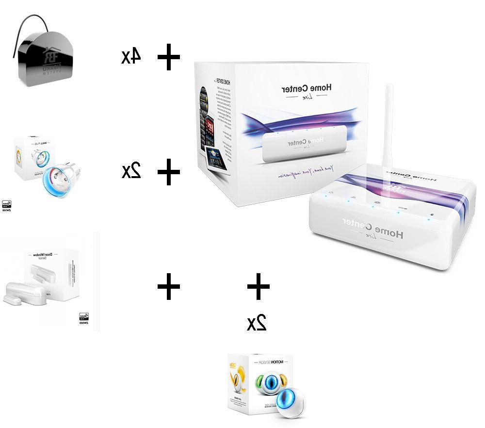 z wave home automation starter kit
