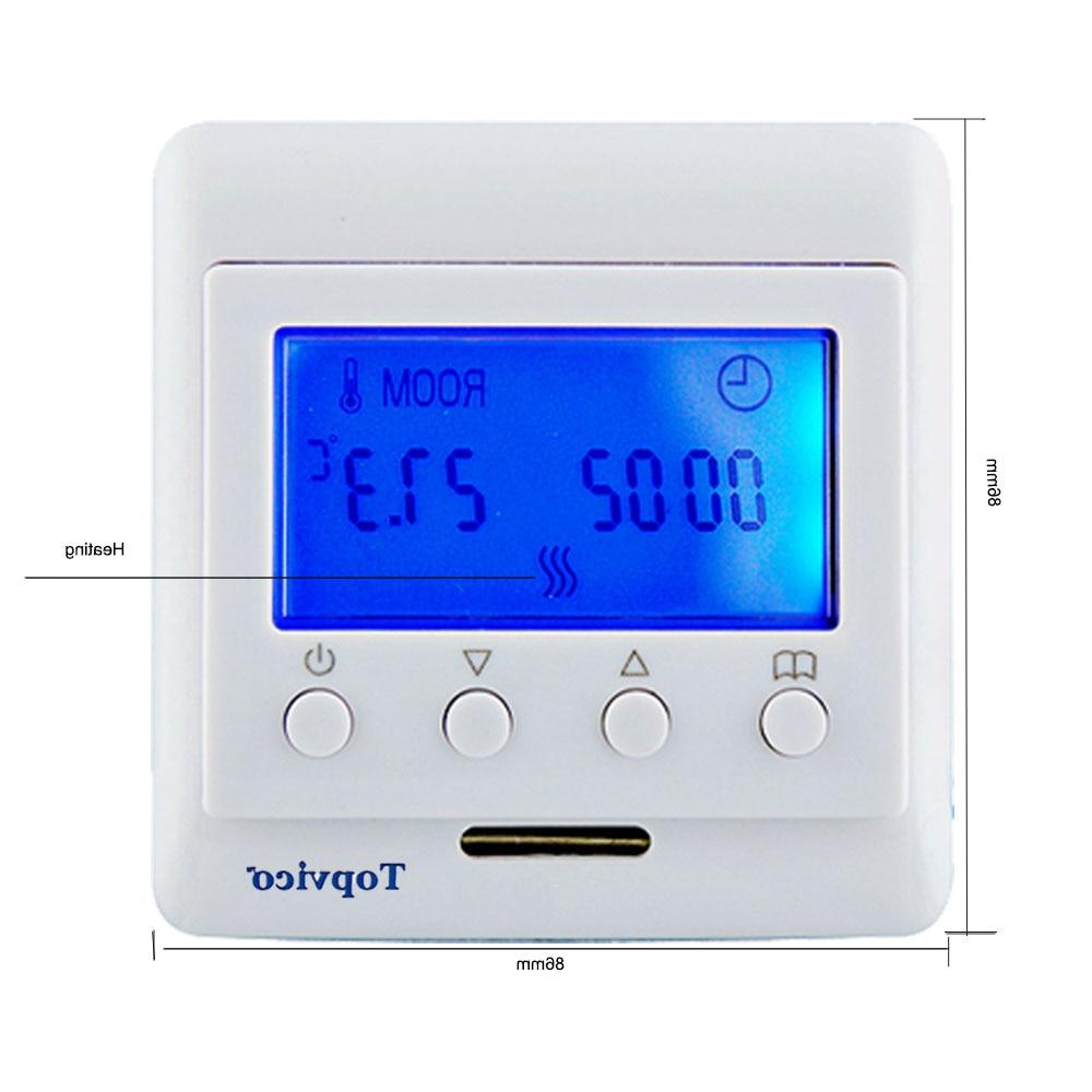 Topvico <font><b>Thermostat</b></font> Floor Electric Heating work Fibaro and Smart <font><b>Home</b></font> <font><b>Automation</b></font>