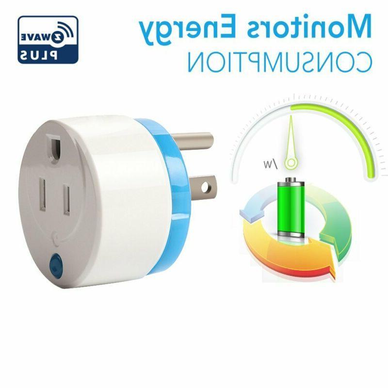 HAOZEE Z Wave Plus Mini Smart Power Home Automation Outlet,Z Wave Ran