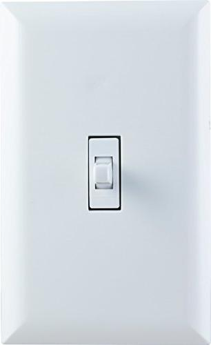 GE Z-Wave Smart Lighting Toggle On/Off, In-Wall, White, Repeater Works with Wink and Alexa,