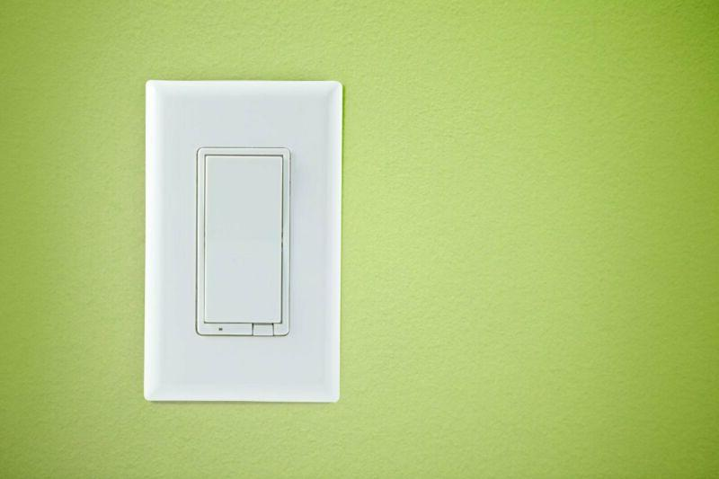 Ge Wireless Lighting On/Off Paddle, In-Wall