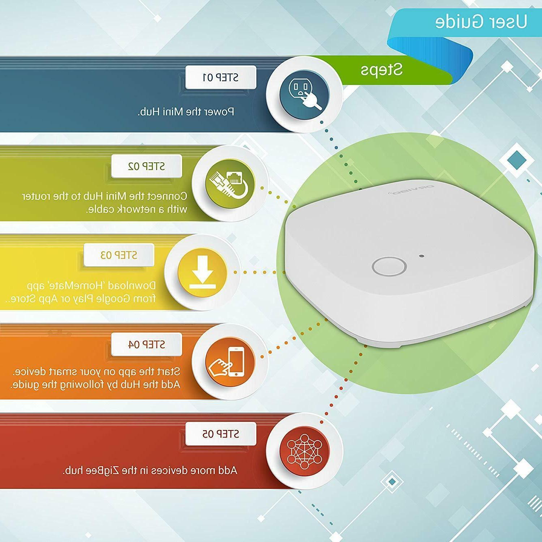 Orvibo ZigBee Hub, Smart Home Hub for ZigBee Home ZBMHUB-W