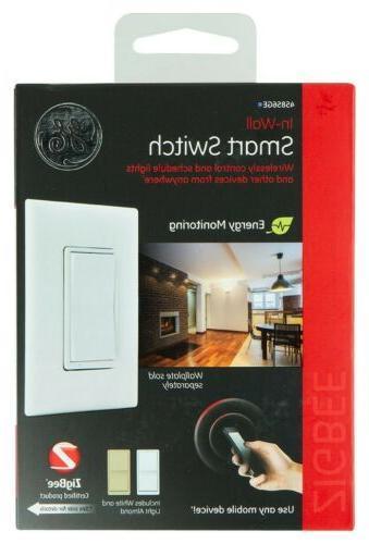 zigbee in wall smart switch model 45856