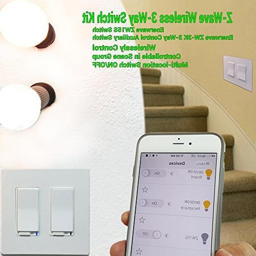 Enerwave ZW3K Z-Wave Wireless Switch locator and Free ***Need ZWN-500D or ZWN-15S***