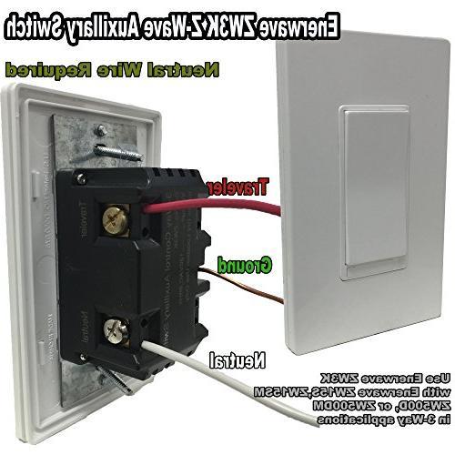 Enerwave ZW3K Wireless 3-Way ADD ON Switch and ***Need work with ZWN-500D