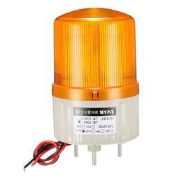 LED Warning Light Bulb Bright Alarm Lamp Buzzer 90dB AC220V
