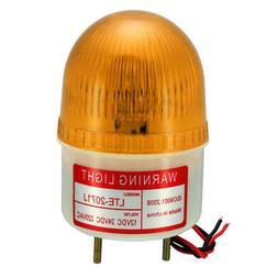 LED Warning Light Bulb Flashing Industrial Buzzer 90dB AC 22