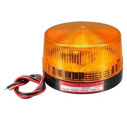 led warning light bulb flashing industrial signal