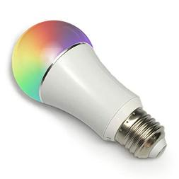 Color LED Light Bulb, Wi-Fi Dimmable Smart Bulb, Works with