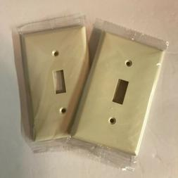 Light Switch Plate Covers Almond Jasco11688 Set of 2