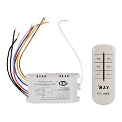 XCSOURCE 4-Channel Light Digital Wireless RF Remote Control