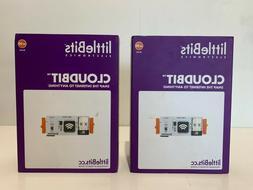 Lot of 2 LittleBits CloudBit Starter Kit Sealed Box STEM Lea