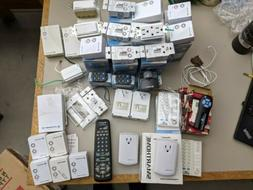 Lot of X10 Home Automation Equipment Lamp / Remotes / Comput