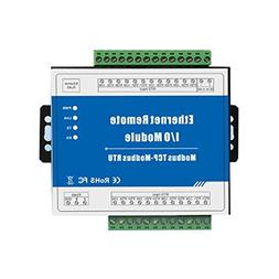 Homyl M340T Ethernet 8 CH Remote IO Module,for Home Automati