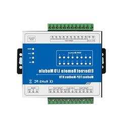 Homyl M410T Ethernet 8 CH Remote IO Module,for Home Automati