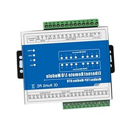 MagiDeal M140T Ethernet 8 CH Remote IO Module,for Home Autom
