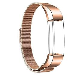 LiPing Milanese Magnetic Loop Stainless Steel Smart Watch Ba