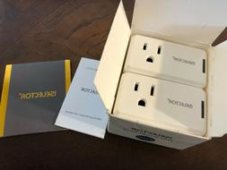 ISELECTOR Mini Smart Plug 2-Pack, Wi-Fi, Control Electric De