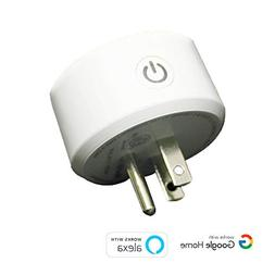 Mini Smart Plug Outlet- Compatible with Amazon Alexa and Goo