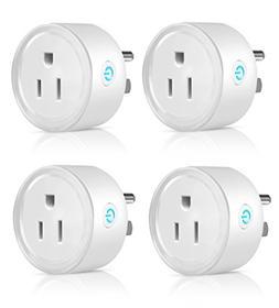 Mini Smart Plug WiFi Enabled,Wireless Outlet, Amazon Alexa C