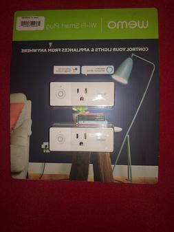 Wemo Mini Wi-Fi Smart Plug 2-pack  - NEW