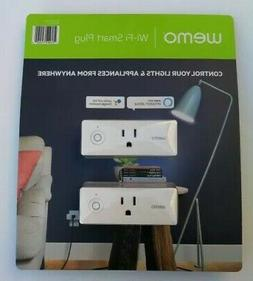 WeMo 4T-T3X2-Y1HT plug in light and appliances control 2 Pac
