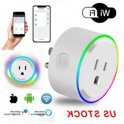 Mini Wifi Smart Home Plug Power Socket Timer Outlet APP Remo
