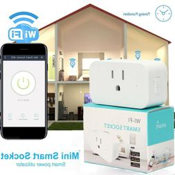 Mini Wifi Smart Plug Wireless Power Socket Timer Outlet  Ale