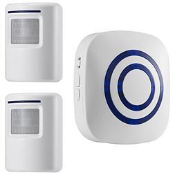 WJLING Motion Sensor Alarm, Wireless Driveway Alert, Home Se