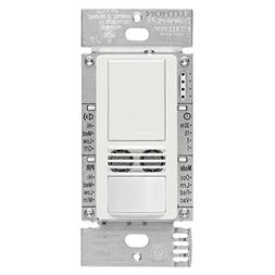 Lutron MS-A102-WH Maestro Dual Tech Occupancy Sensor Switch,