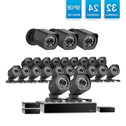 Zmodo 32 Channel HD NVR  Simplified PoE Surveillance System
